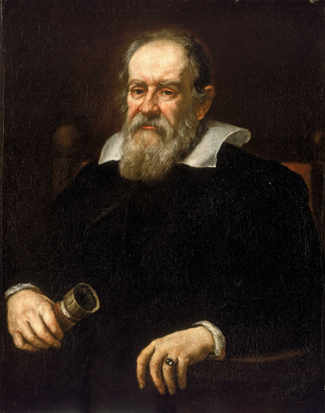 Painting of Galileo Galilei.