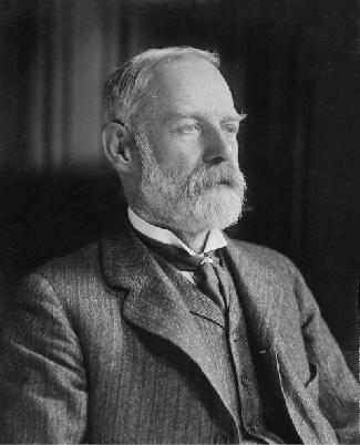 Photograph of George Darwin.