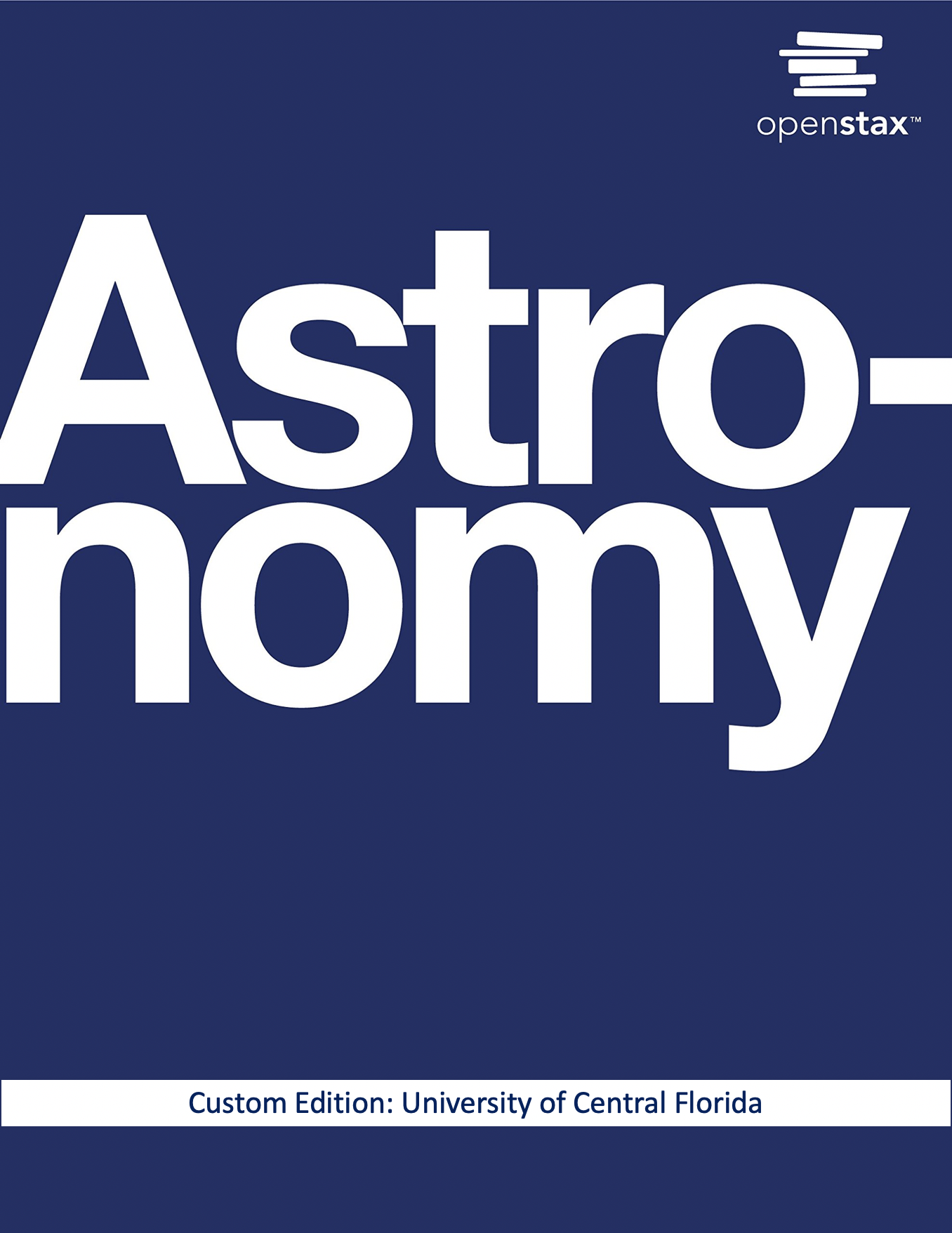 Cover image for Astronomy